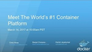 Embedded thumbnail for Meet The World's #1 Enterprise Container Platform