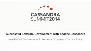 Embedded thumbnail for The Last Pickle: Successful Software Development with Apache Cassandra