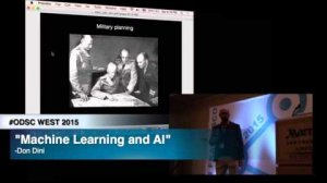 Embedded thumbnail for ODSC West 2015 | Machine learning and AI: The difference between knowledge and action