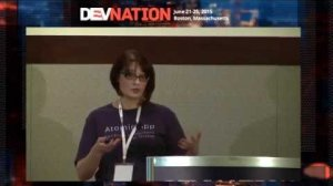Embedded thumbnail for DevNation 2015 - So you want to be a DevOps engineer?