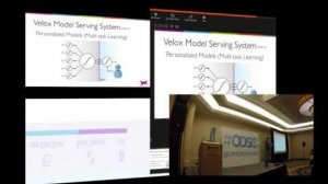 Embedded thumbnail for ODSC WEST 2015 | Intelligent Services: Managing Machine Learning in Production