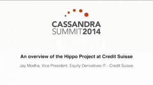 Embedded thumbnail for Credit Suisse: An overview of the Hippo Project at Credit Suisse