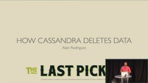 Embedded thumbnail for How Cassandra Deletes Data (Alain Rodriguez, The Last Pickle) | Cassandra Summit 2016