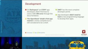 Embedded thumbnail for Is OpenStack Ready for App Developers? The Journey of Applicatio