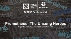 Embedded thumbnail for Prometheus: The Unsung Heroes [I] - Alejandro Ramirez, Swisscom Directories AG