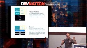 Embedded thumbnail for DevNation 2015 - DevOps with java ee