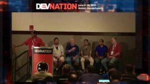 Embedded thumbnail for DevNation 2015 - Devops in a container world: panel discussion