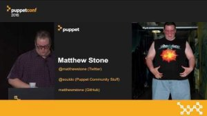 Embedded thumbnail for A Tale of Two Hierarchies: Group Policy & Puppet – Matt Stone at PuppetConf 2016