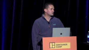 Embedded thumbnail for Container Camp 2017 Sydney Day 2 James Buckett