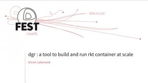 Embedded thumbnail for dgr : a tool to build and run rkt container at scale