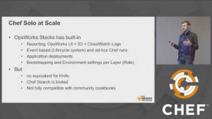 Embedded thumbnail for From Solo to Happy: Migrating Chef Solo to Chef Server/Automate - May 24, 2017