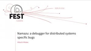 Embedded thumbnail for Namazu: a debugger for distributed systems specific bugs