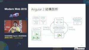 Embedded thumbnail for Modern Web 2016 - 快快樂樂學會 Angular 2 網站開發架構