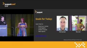 Embedded thumbnail for Up and Running With Puppet Enterprise in 45 Minutes or Less! – Grace Andrews & Jeremy Adams