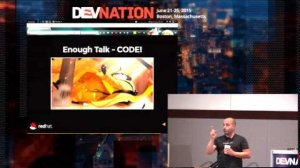 Embedded thumbnail for DevNation 2015 - Introduction to PaaS for application developers