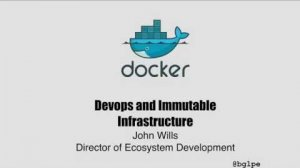 Embedded thumbnail for Keynote:Devops and Immutable Delivery