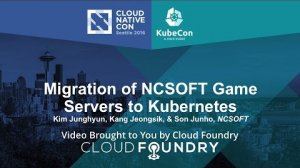 Embedded thumbnail for Migration of NCSOFT Game Servers to Kubernetes by Kang Jeongsik