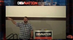 Embedded thumbnail for DevNation 2015 - Making jQuery Widgets Famous, as well as Famo.us