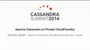 Embedded thumbnail for Pivotal: Apache Cassandra on Pivotal CloudFoundry