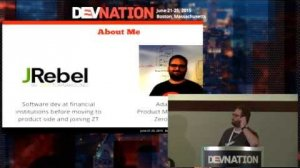 Embedded thumbnail for DevNation 2015 - Develop anywhere--even the cloud