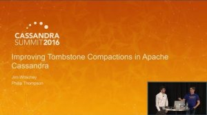Embedded thumbnail for Tombstone Compactions in Cassandra (James Witschey & Philip Thompson, DataStax)   C* Summit 2016