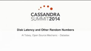 Embedded thumbnail for DataStax: Disk Latency and Other Random Numbers