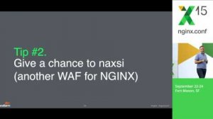 Embedded thumbnail for Making applications secure with NGINX