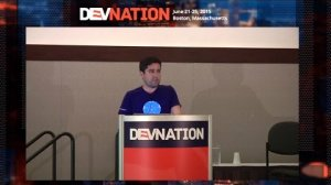 Embedded thumbnail for DevNation 2015 - Build distributed, fault-tolerant infrastructure with Apache Mesos