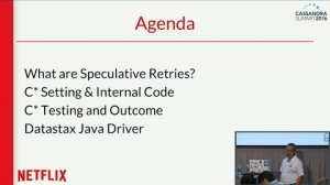 Embedded thumbnail for Tuning Speculative Retries to Fight Latency (M. Figuiere, M. Do, Netflix) | Cassandra Summit 2016