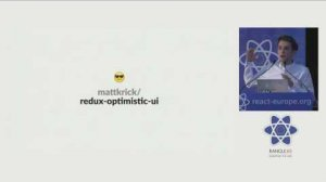 Embedded thumbnail for Dan Abramov - The Redux Journey at react-europe 2016