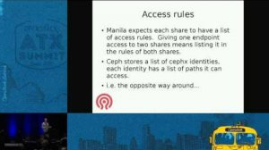 Embedded thumbnail for Cephfs as a Service with OpenStack Manila