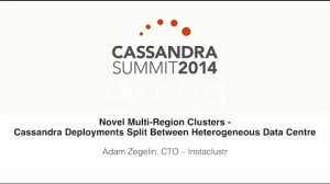 Embedded thumbnail for Instaclustr: Multi-Region Clusters — Cassandra Deployments Split Between Heterogeneous Data Centre