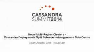 Embedded thumbnail for Instaclustr: Multi-Region Clusters — Cassandra Deployments Split Between Heterogeneous Data Centre