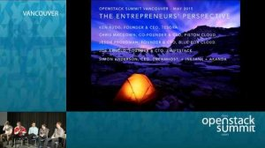 Embedded thumbnail for The Entrepreneur's Challenge: The Realities of Starting an OpenStack Company