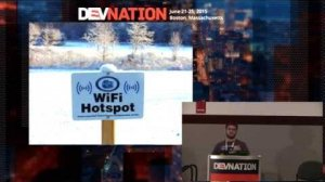 Embedded thumbnail for DevNation 2015 - Securing mobile applications
