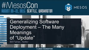 """Embedded thumbnail for Generalizing Software Deployment - The Many Meanings of """"Update"""""""