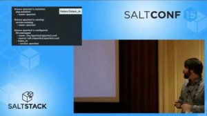 Embedded thumbnail for SaltConf15 - Lyft - Sequentially Ordered Execution in SaltStack