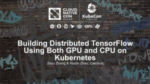Embedded thumbnail for Building Distributed TensorFlow Using Both GPU and CPU on Kubernetes [I] - Zeyu Zheng