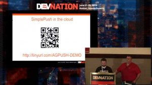 Embedded thumbnail for DevNation 2015 - Push the future with Webpush, the IoT, embedded, & industry standards