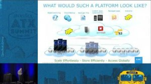 Embedded thumbnail for EMC - Resilient, geo-distributed persistence for SWIFT data