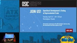 Embedded thumbnail for Intel - OpenStack Development & Testing at Unprecedented Scale