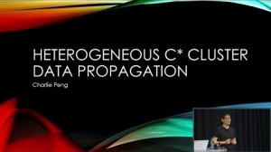 Embedded thumbnail for Data Propagation Between Heterogeneous C* Clusters (Charlie Peng, Cisco Systems) | C* Summit 2016