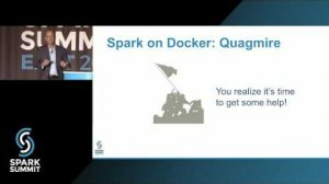 Embedded thumbnail for Lessons Learned from Dockerizing Spark Workloads: Spark Summit East talk by Tom Phelan