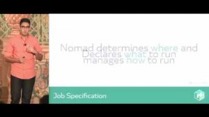 Embedded thumbnail for Nomad: A Distributed, Optimistically Concurrent Schedule: Armon Dadgar, HashiCorp