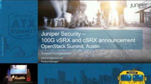 Embedded thumbnail for Juniper Networks - Building Secure-Networks Across Cloud Boundar