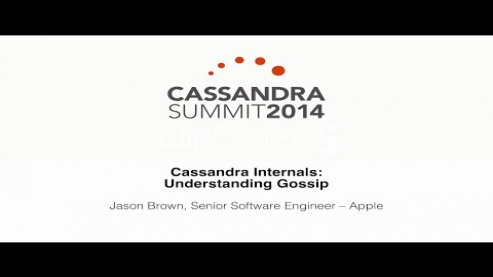 Embedded thumbnail for Apple Inc.: Cassandra Internals — Understanding Gossip