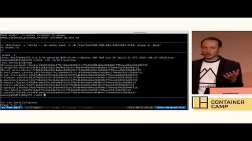 Embedded thumbnail for Live Container Hacking: Capture The Flag - Andrew Martin (Control Plane) vs Ben Hall (Katacoda)